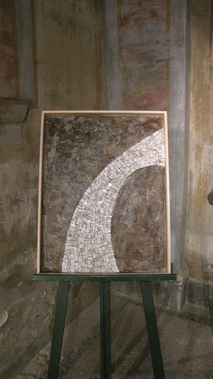 Vecchia strada - mosaico Vecchia strada - mosaic