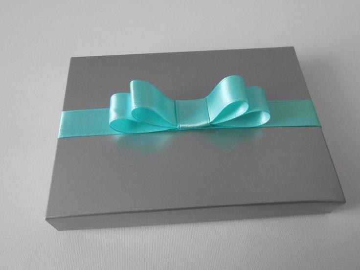 box argento e verde tiffany