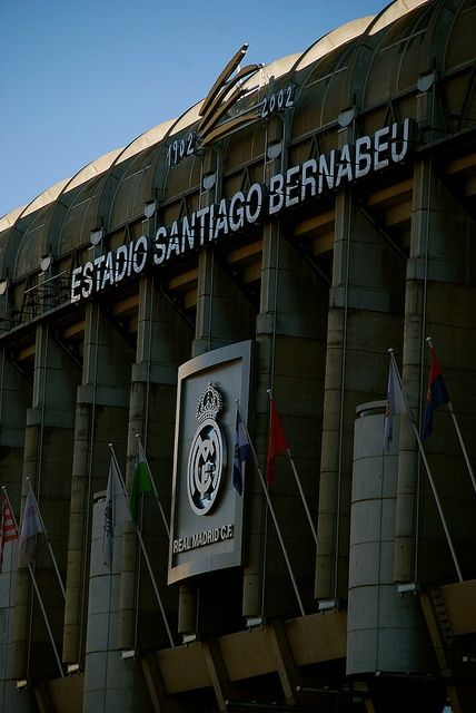 #madrid #spain #realmadrid #santiagobernabeu