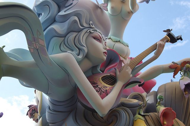 Las Fallas Valencia   Flickr - Photo Sharing!