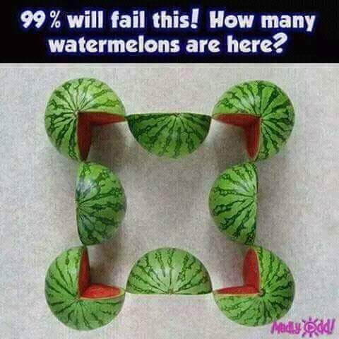 99% will fail this! How Many Watermelons are there? Brainteaser Puzzles!