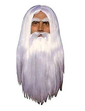 Amazon.com: Merlin Wig and Beard Set: Toys & Games