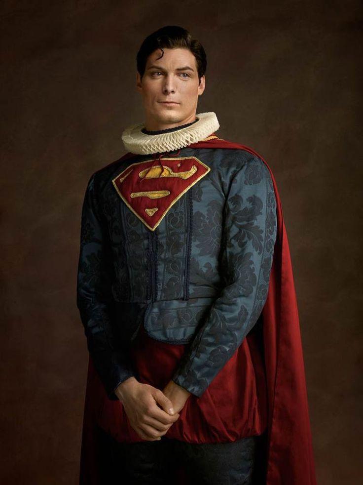 Quand la Pop Culture et les super-héros rencontrent la peinture flamande : #Sacha Goldberger #SuperFlemish