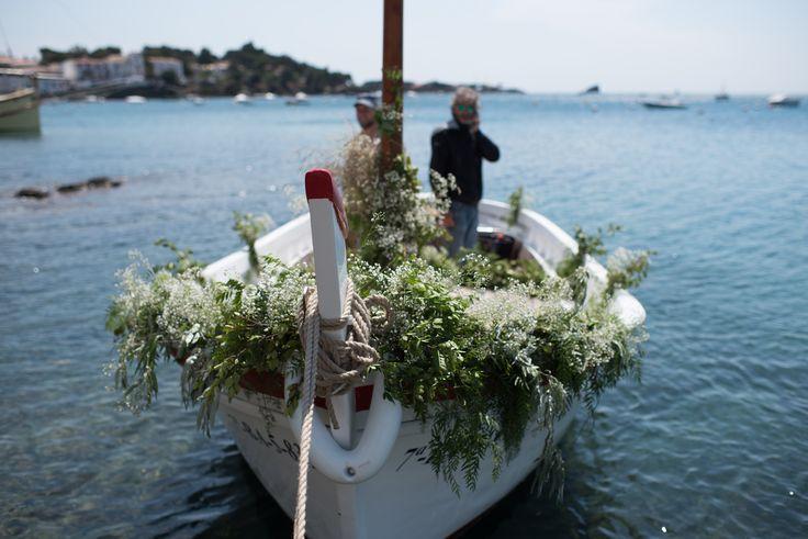 wedding in Cadaques, boda en Cadaques  wedding boat