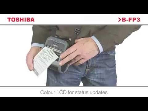 Impressora térmica portátil B-FP3D A JÁJÁ Toshiba printing solutions Etiquetas #etiquetas #rotulos #labels #barcodes #labelprinters #BFP3 #toshiba #TEC #JAJA