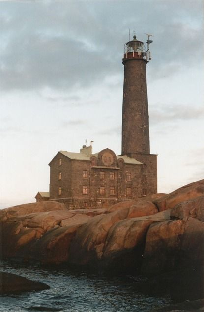 Begtskär lighthouse near Hanko. They made it a hotel. Imagine dark autumn nights there with that someone special.