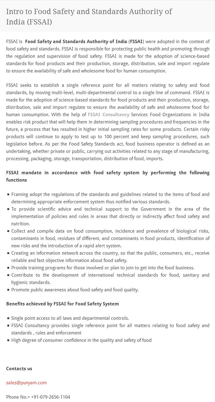 ideas about food safety standards elizabeth fssai s food safety and standards authority of fssai were adopted in the context
