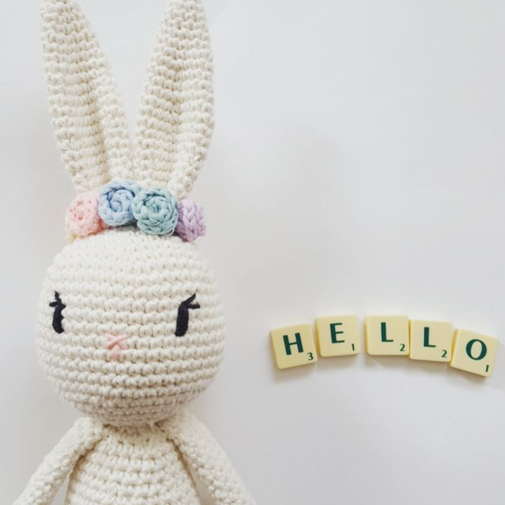 """22 Likes, 1 Comments - Kamila-Crochets (@kamilacrochets) on Instagram: """"Absolutely love this one #crochetbunny #amigurumi #amigurumibunny #etsy #kamilacrochets"""""""
