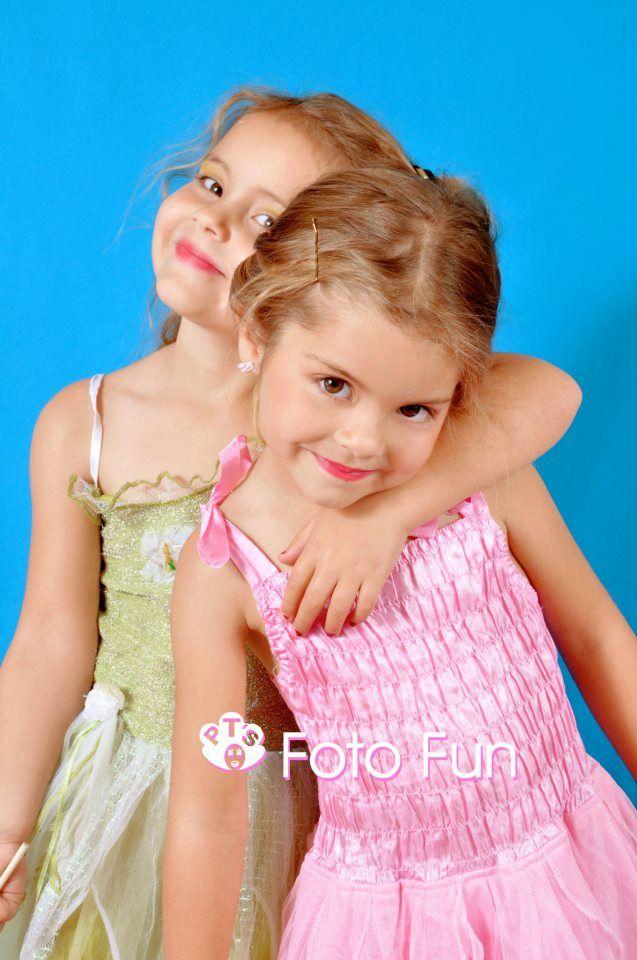 pretty twin fairies