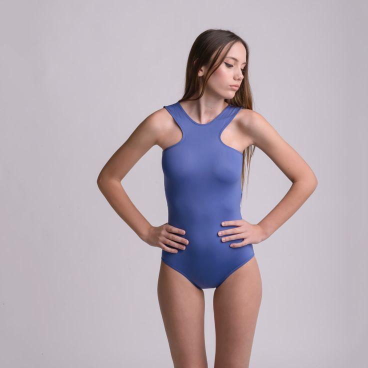 CROSS NAVY BLUE bodysuit by bodysuits on Etsy