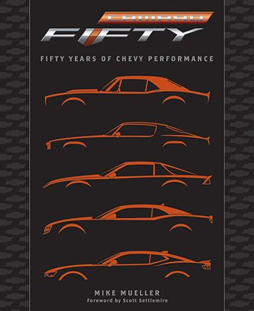 Camaro Fifty Years of Chevy Performance Book - ChevyMall