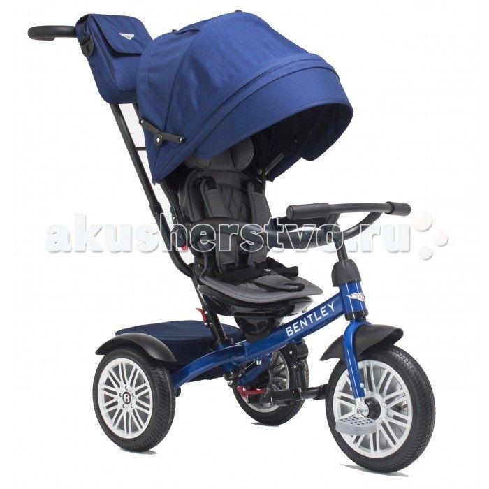 Велосипед трехколесный Bentley BN1  Велосипед трехколесный Bentley BN1 обеспечит комфорт и удовольствие для вашего малыша во время прогулки.  Такой универсальный детский транспорт позволяет ребенку как ездить самостоятельно, так и кататься под контролем взрослого. При самостоятельном передвижении ребенок будет приводить велосипед в движение при помощи педалей и управлять им рулем. Если же велосипед выполняет функцию прогулочной коляски, взрослый сможет толкать его перед собой при помощи…
