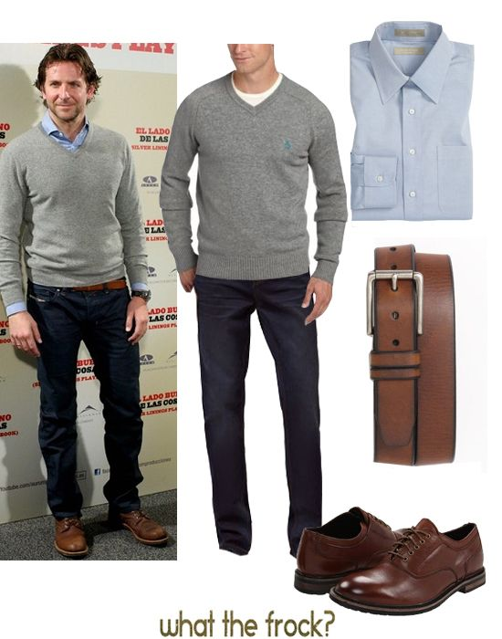 What the Frock? - Affordable Fashion Tips, Celebrity Looks for Less: Guy Style: Bradley Cooper