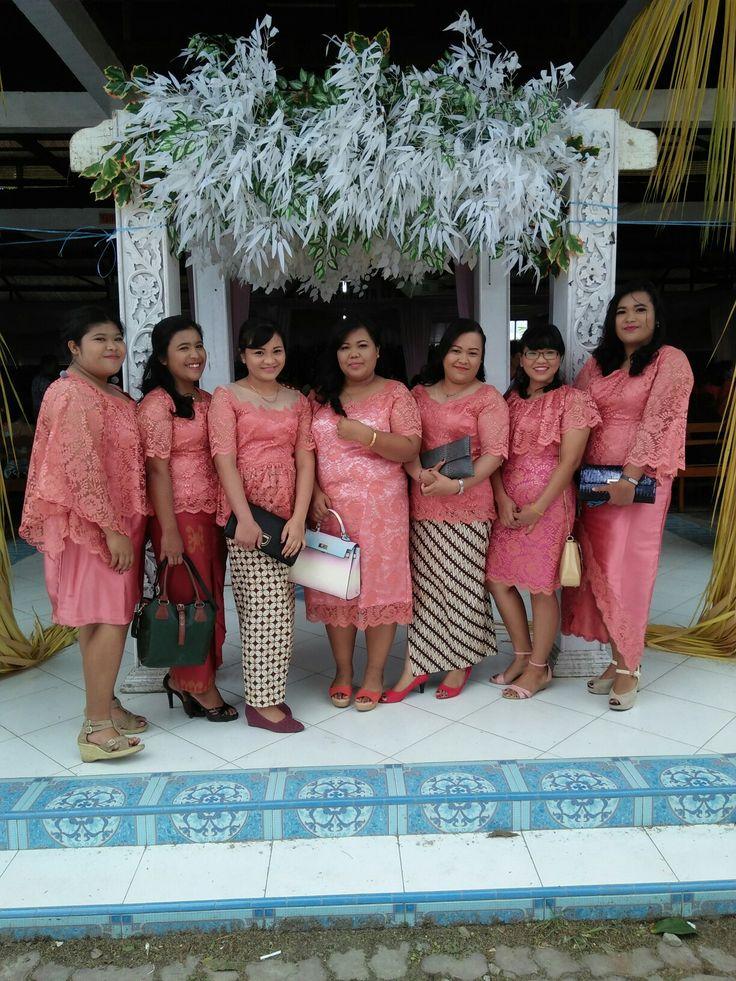 Pendamping pengantin. Wedding Party dress.  #kebaya #kebayaIndonesia