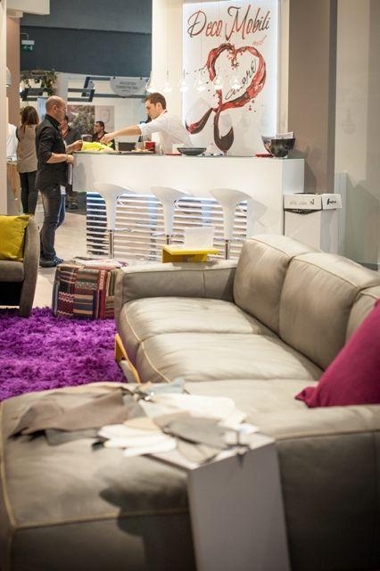 Un'idea di #divano per una vita a 2 >>Stand Promessi Sposi BARI Ediz. 2013