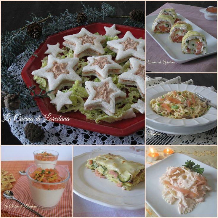 Tante semplici e sfiziose Ricette con il salmone, da deliziosi antipasti a squisiti primi piatti, ideali anche sulla tavola delle Feste