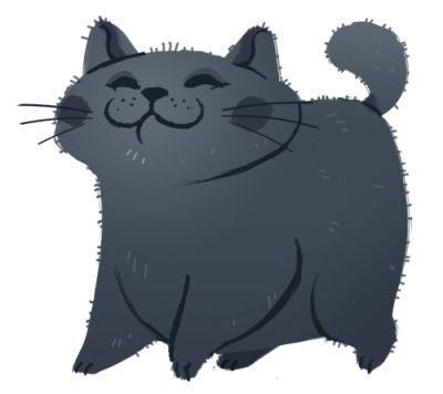 Иллюстрации кошек DAILY CAT DRAWINGS (73 картинки) more there!