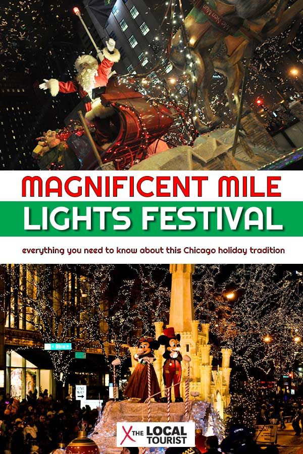 Magnificent Mile Lights Festival Chicago Holiday Magnificent Mile Chicago Restaurants Best