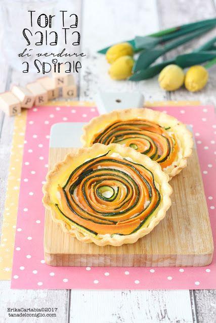 La tana del coniglio: Torta salata di verdure a spirale