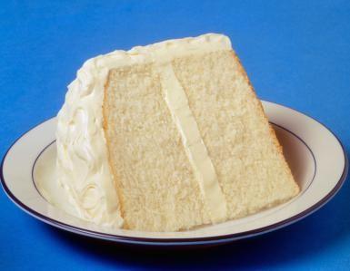 1-white-cake-Howard-Deshong.jpg - White cake photo by Howard Deshong / Getty Images