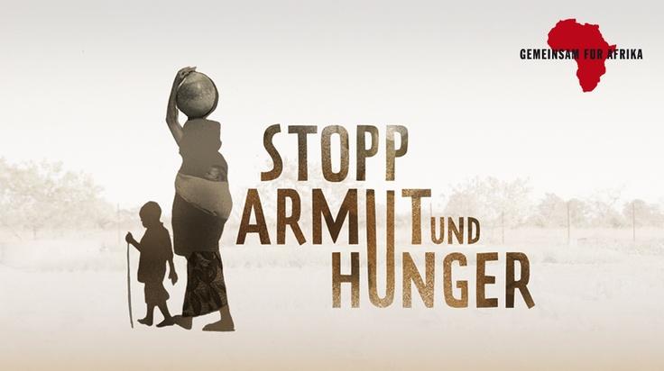"""Stoppt Armut und Hunger"""