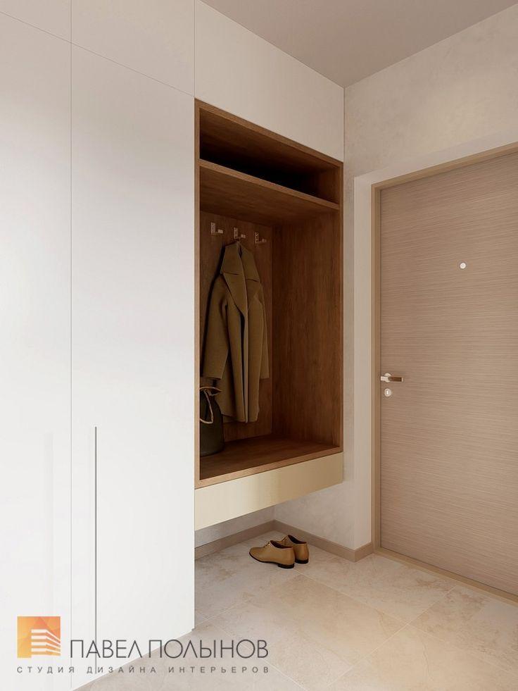 Фото прихожая из проекта «Дизайн-проект квартиры 72 кв.м., ЖК «Дом на Выборгской», современный стиль»
