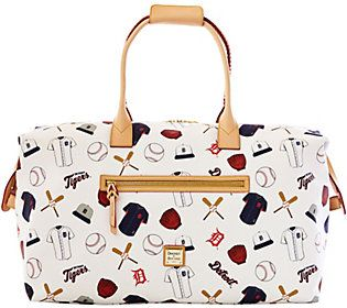 Dooney & Bourke MLB Tigers Duffel Bag