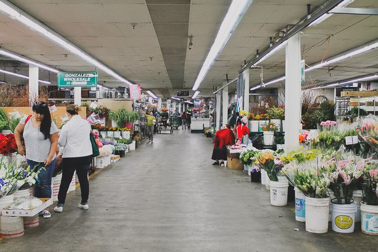 Tips for Shopping the LA Flower Market   Katie Pritchard