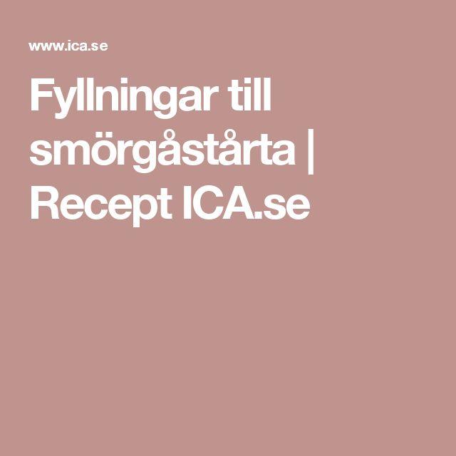 Fyllningar till smörgåstårta   Recept ICA.se