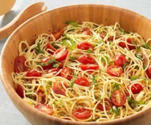 Randy's Lemon Capellini Recipe by Randy Fenoli