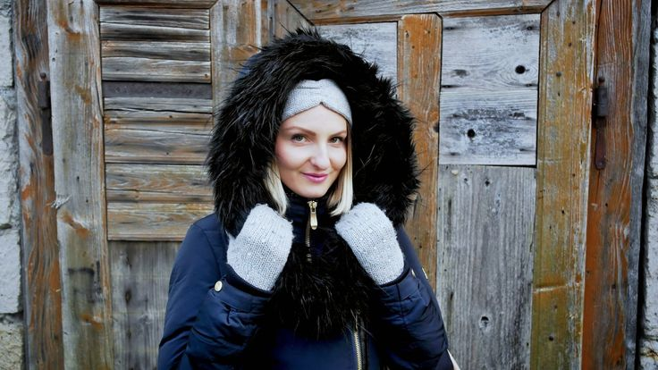 BLONĎAVÁ POTVORA: The magic of winter accessories