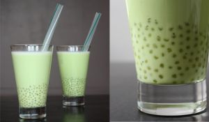 bubble matcha green tea recipe (in french !)