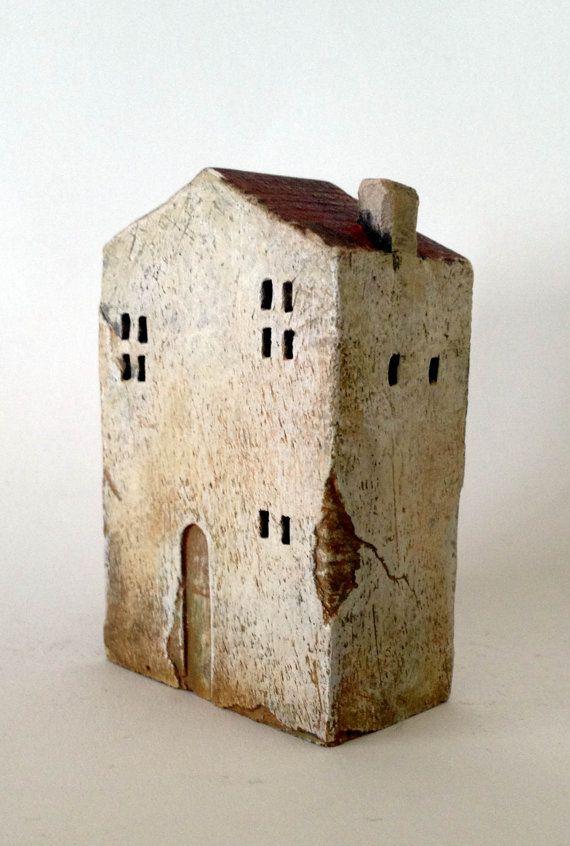 sweet little ceramic house