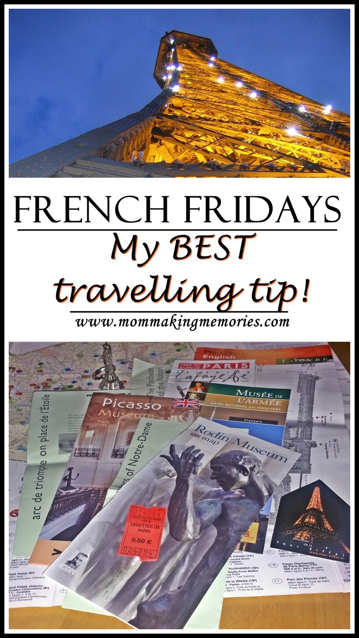 Welcome to French Fridays... in this post you can find the best travelling tip I received before my trip to Paris.