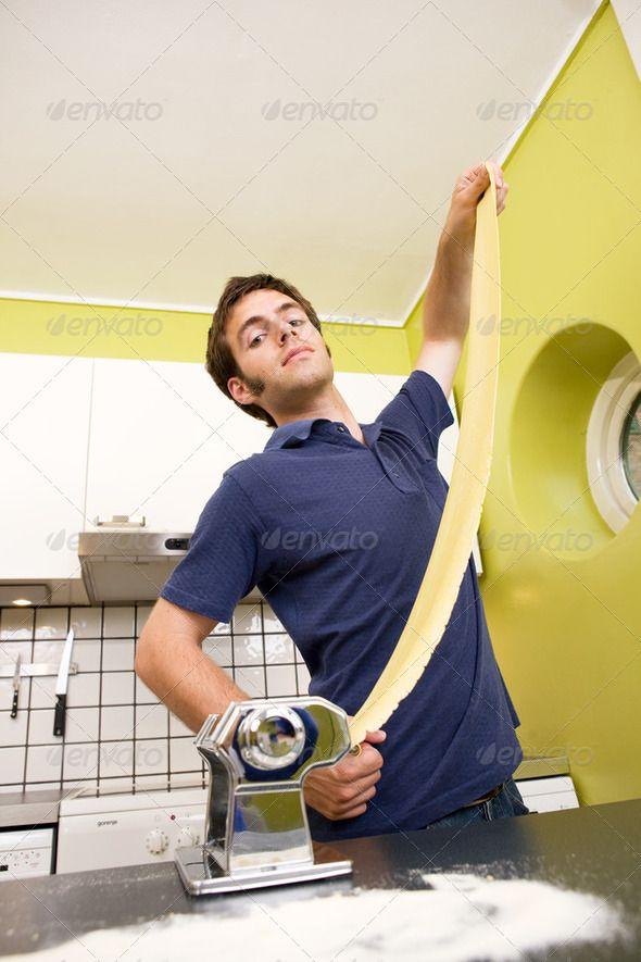Pasta maker. http://photodune.net/item/proud-pasta-maker/248824