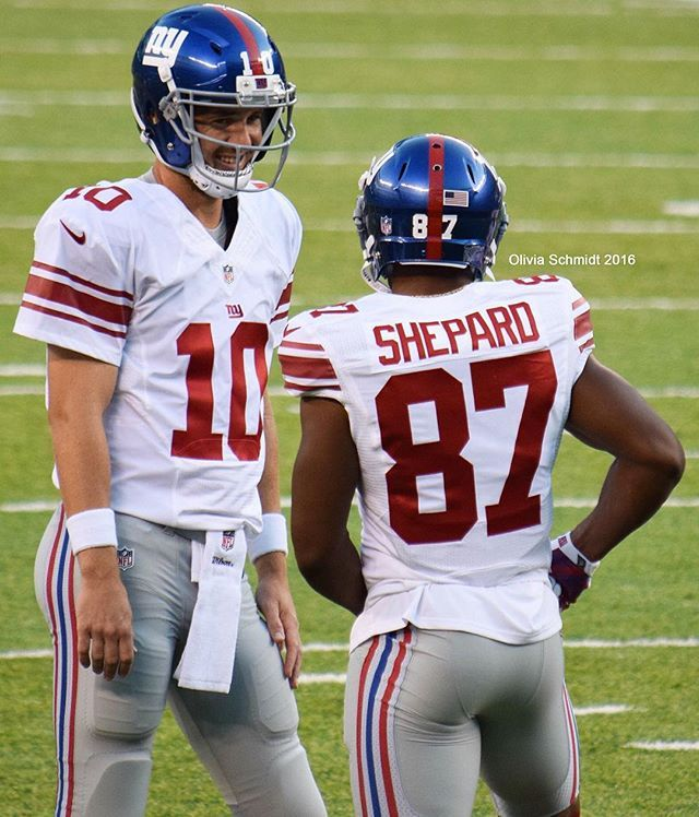 Eli knows how oh so special this guy is gonna be.. @sterl_shep3 #NYG #Shepard