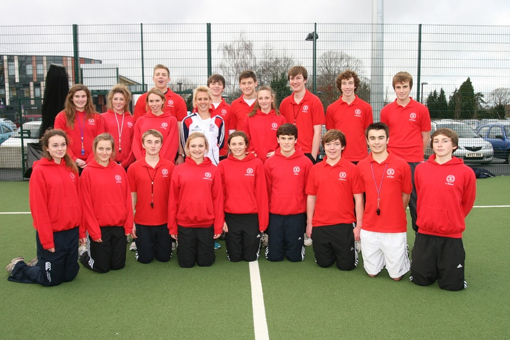 St Bartholomews School Hockey Pitch - Opened by Team GB Hockey Player, Alex Danson