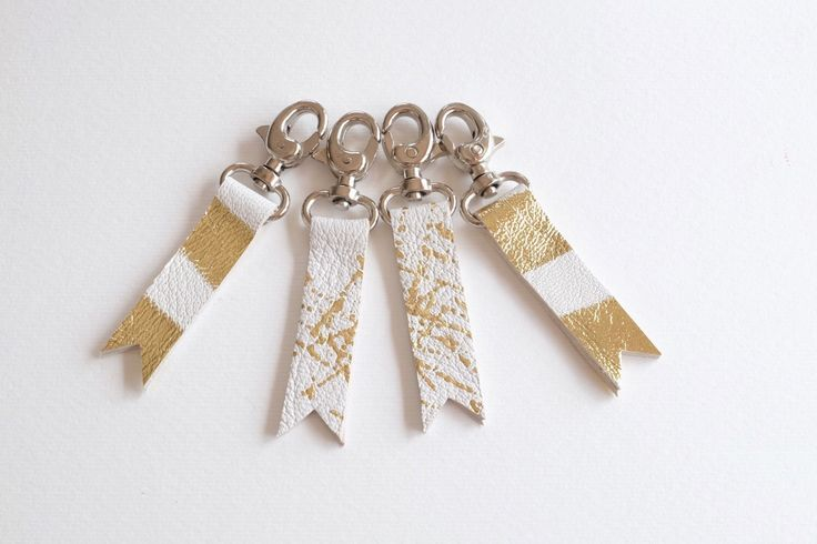 A personal favourite from my Etsy shop https://www.etsy.com/ie/listing/280779008/set-of-4-white-and-gold-leather