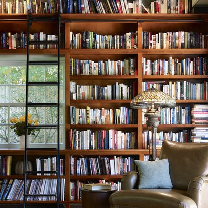 ... Decorating Ideas For Attractive Family Room Craftsman Design Ideas With  Bookcase Bookshelves Built In Shelves Built In Bookshelves Home Library Home  ...