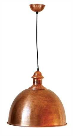 Antique Copper Iron Pendant Light – First of a Kind