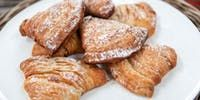 Try this Candied orange and ricotta sfogliatelle recipe by Chef Matt Moran.This recipe is from the show The Great Australian Bake Off.