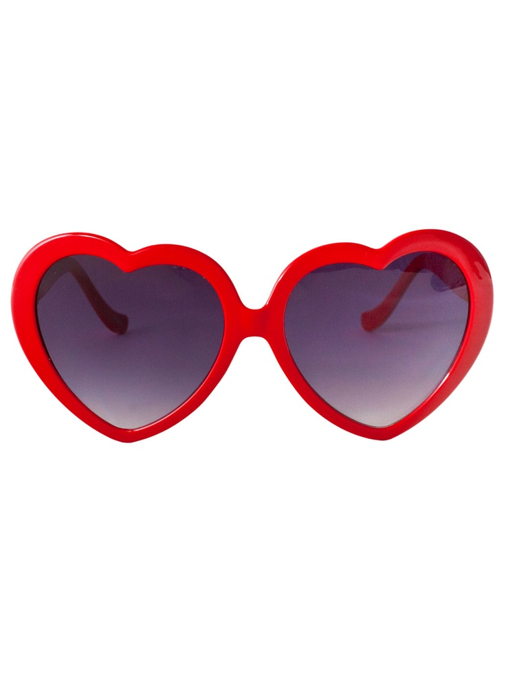 Heart Sunglass | Vintage Eyewear | New & Now's Accessories | American Apparel