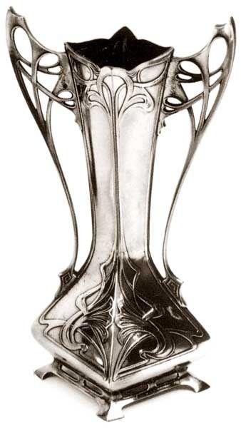 """WMF, """"Flower Vase"""", Circa: 1900."""