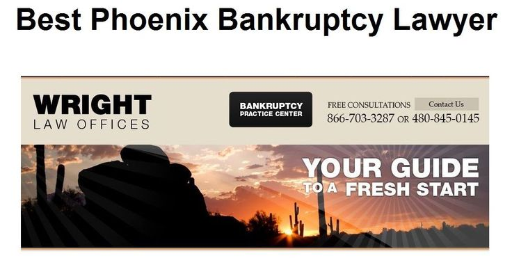 Best Phoenix Bankruptcy Lawyer - We are a bankruptcy law firm in Phoenix, AZ with Attorneys helping people file Chapter 7, Chapter 11, and Chapter 13 bankruptcies. #Phoenix #Bankruptcy #Lawyer
