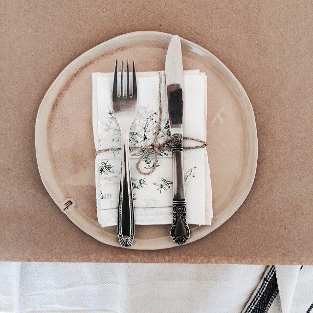 Kinfolk, table setting, mf ceramics