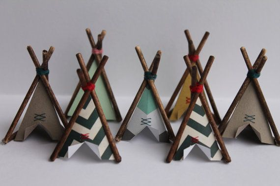 Cake Topper, Mini tipi, Home Decor, petit tipi, Wigwam, Childs Room Decor, décor tipi, art de la flèche, tipi, petit tipi, cadeau d