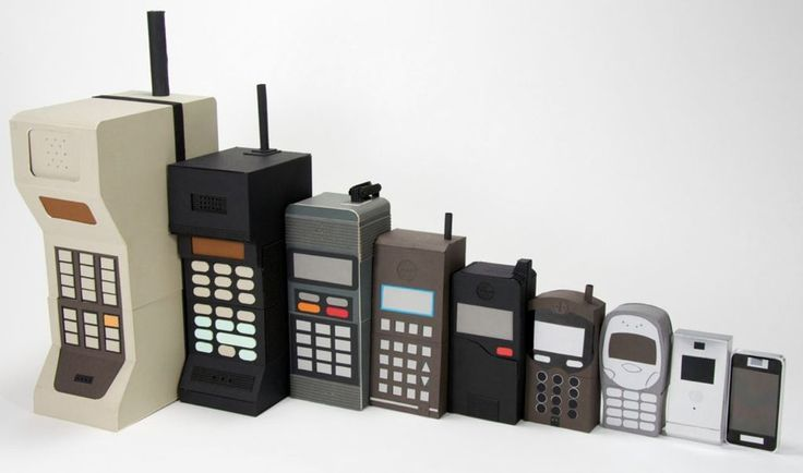 The Evolution of Cell Phones Timeline From '80s to the Mobile Age...
