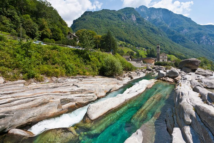 Río Verzasca (Suiza)