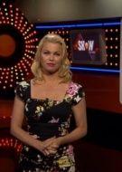 Bridget Maasland in our Cara Dress on Dutch TV SBS6 Shownieuws