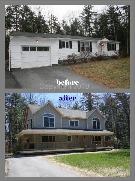 Before and after home additions second story additions for Adding onto a house ideas